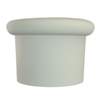 Tapón de silicona sombrerete